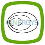 O-ring seal (NBR) Marchel 2028100 -  DN100-DN125-DN150