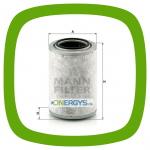 Filter cartridge MANN LC 15 001 x