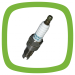 Spark plug ON14-2G // GE3-5 with cap (shielded)