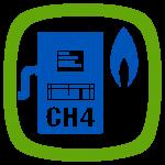 Gasanalysesystem AwiECO für CH4 - O2