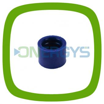 Dichtring Silikon blau Motortech 06.84.040-100 mit Welle