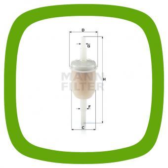 Kraftstofffilter MANN WK 31/2 (100)