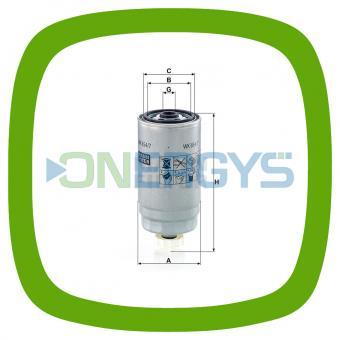 Kraftstofffilter MANN WK 854/7