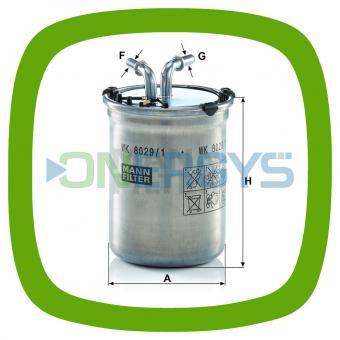 Kraftstofffilter MANN WK 8029/1