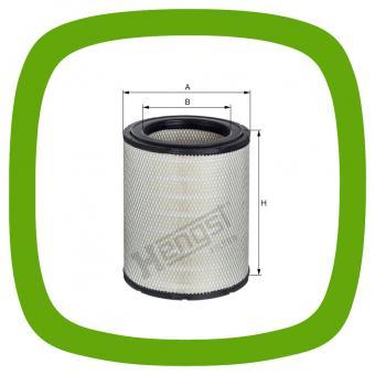 Luftfilter-Einsatz Hengst E1548L