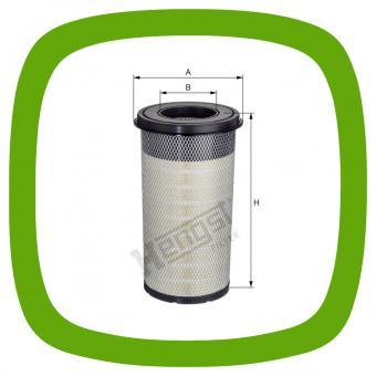 Luftfilter-Einsatz Hengst E1656L