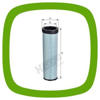 Luftfilter-Sicherheitseinsatz Hengst E1656LS