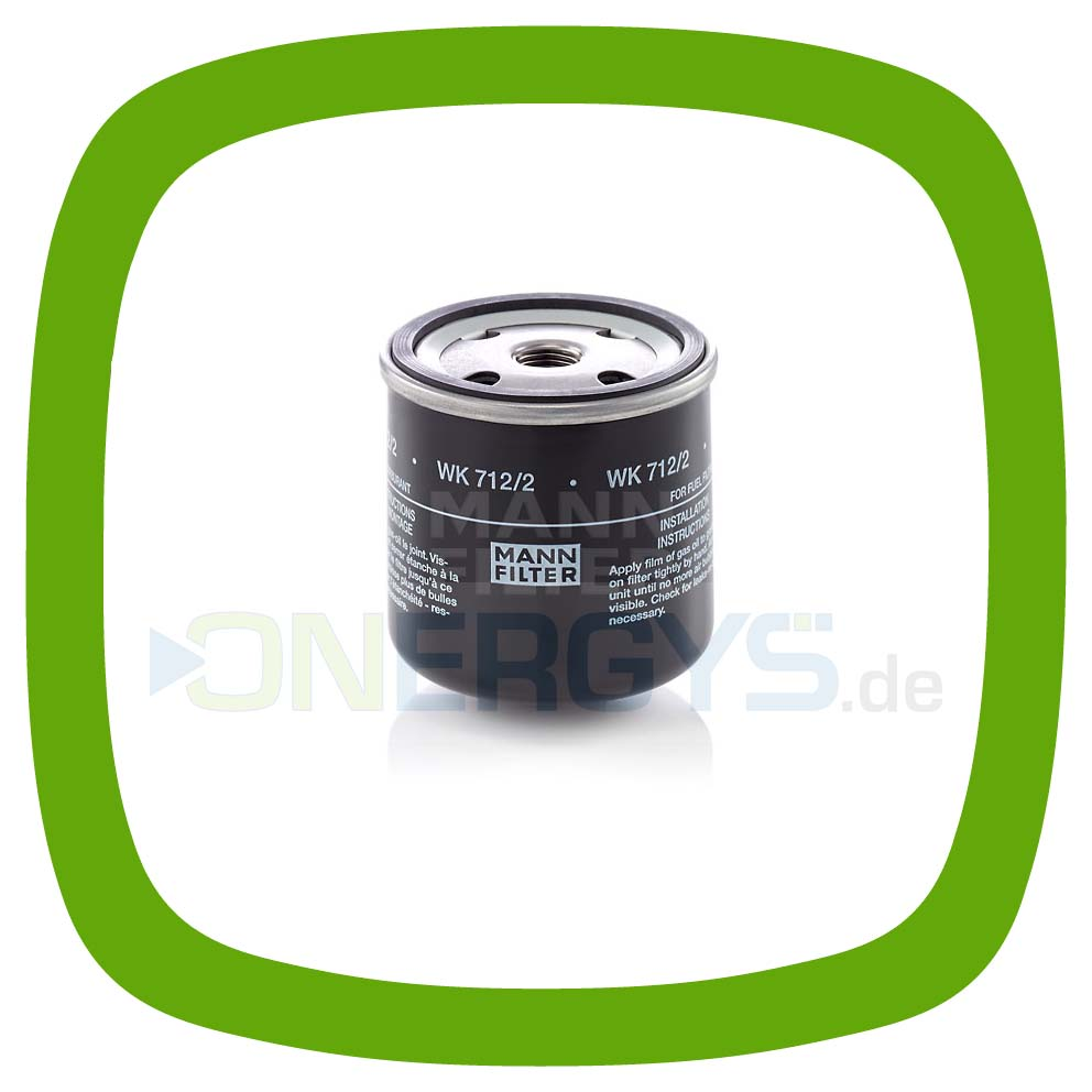 Chp Spare Parts Online Spin On Fuel Filter Mann Wk 712 2 Lombardini