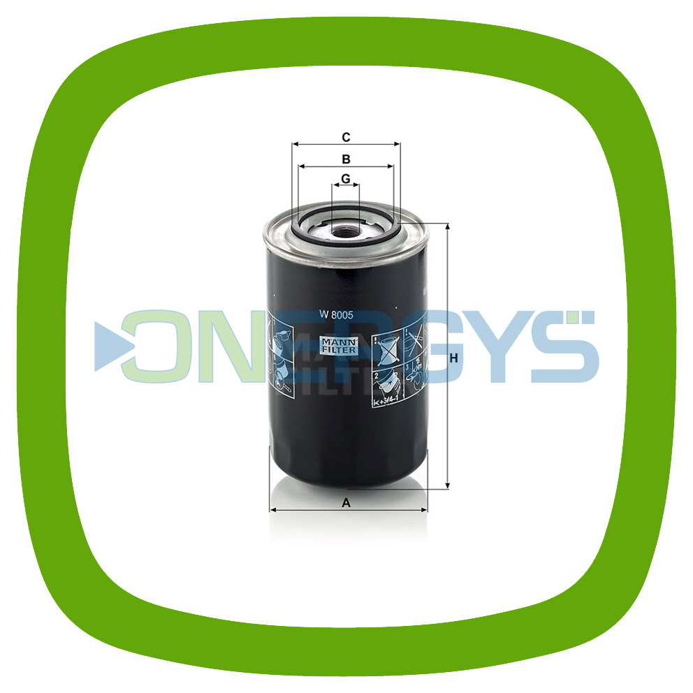for Cars MANN-FILTER W 9019 Oil Filter