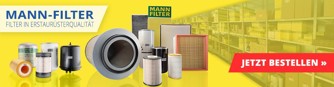Banner 6 - MANN FILTER